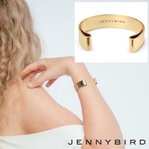 BNIB Jenny bird serra cuff bracelet in gold